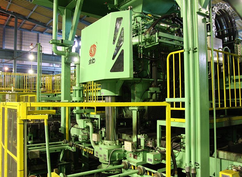 Mitsu Plant (monthly production capacity 2,500 t), Precision Machinery No. 2 Plant