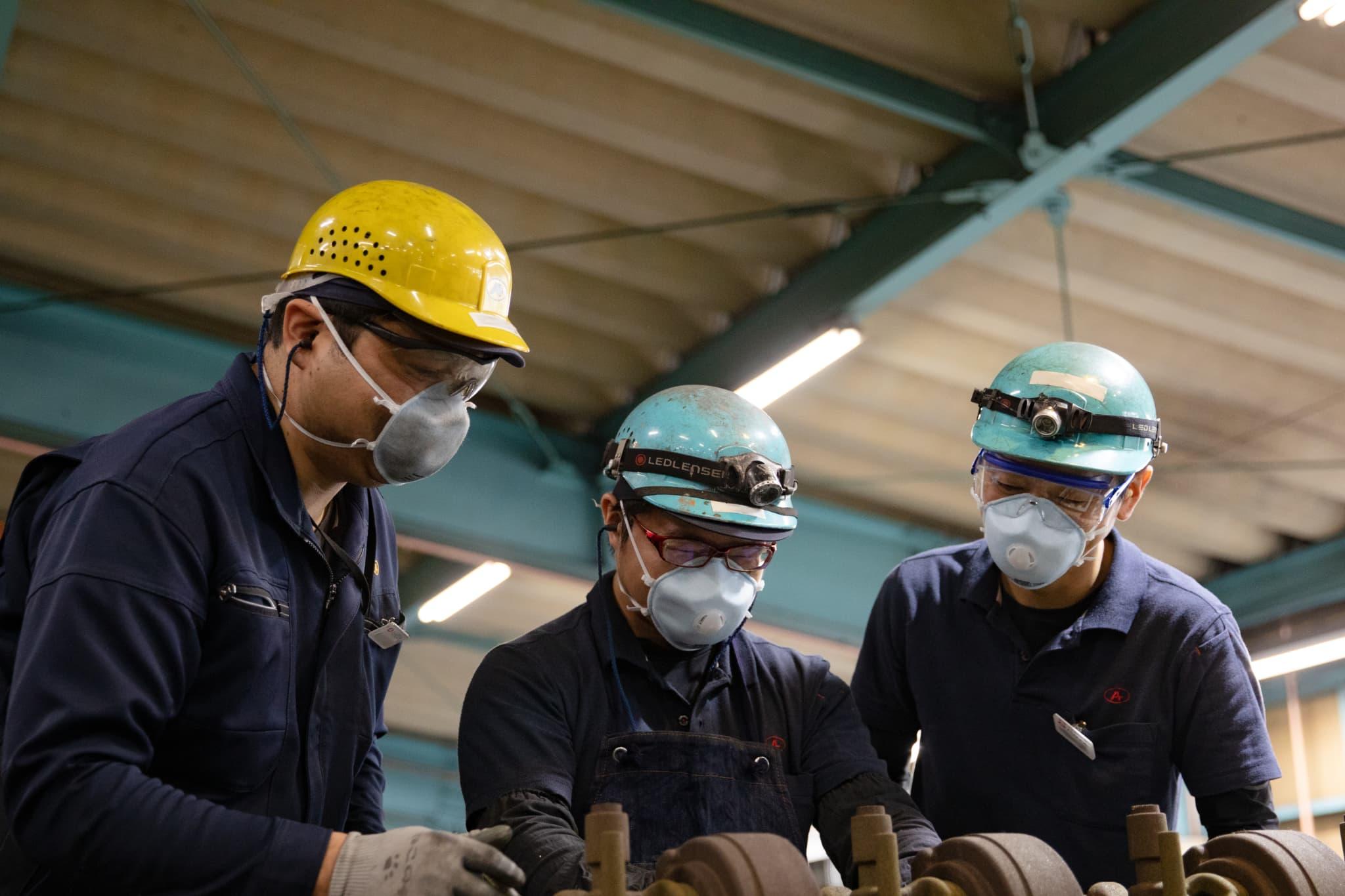 御津工場・精機第二工場